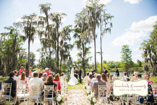 Formosa Gardens Estates: Leigh and Luke's Rustic Garden Wedding