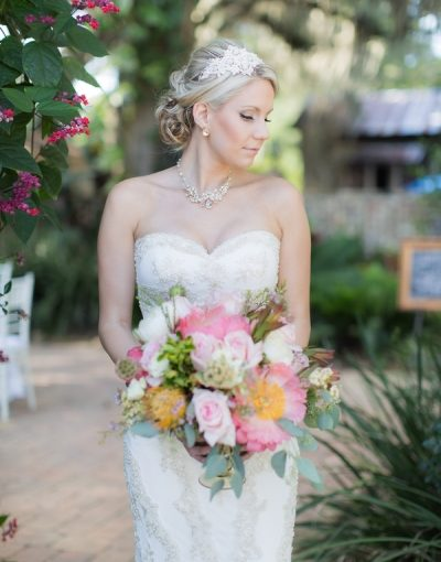 A Dreamy Courtyard Bridal Affair