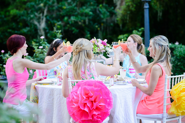 Peachtree House: A Lilly Pulitzer Inspired Bridesmaid Luncheon