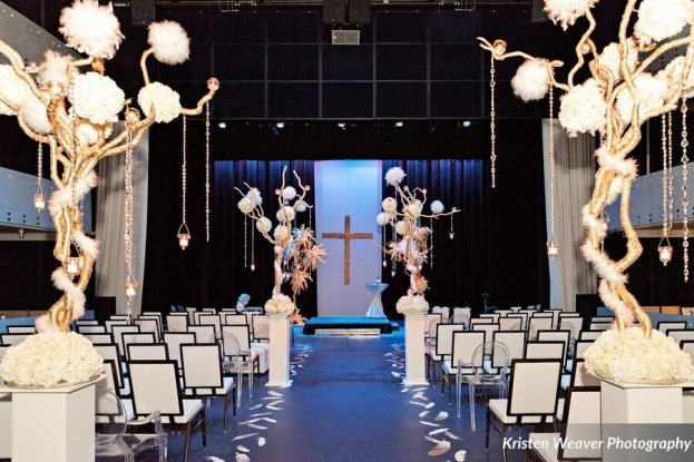 Dr Phillips Center for the Performing Arts: A Silver & Gold Wedding