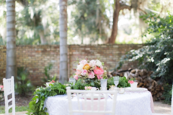 Courtyard Wedding Idea