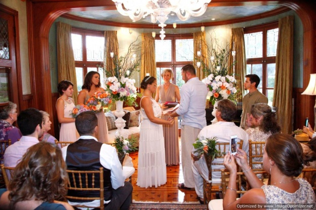 Stetson Mansion: Surprise Wedding Give Away