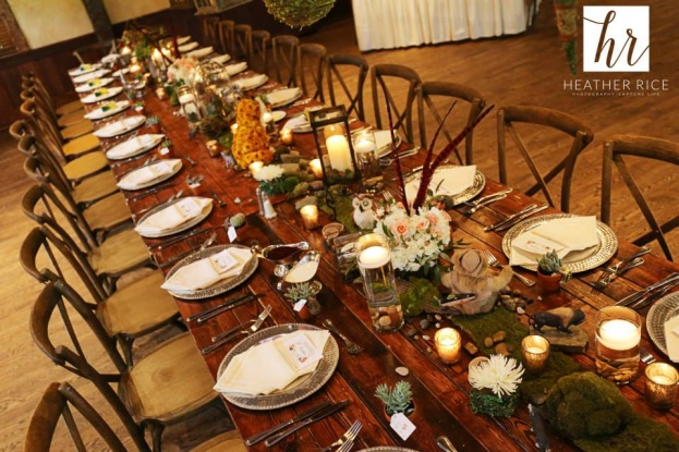 Woodland Themed Baby Shower French Country Chairs