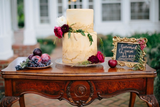 Fall Harvest Inspiration Cake