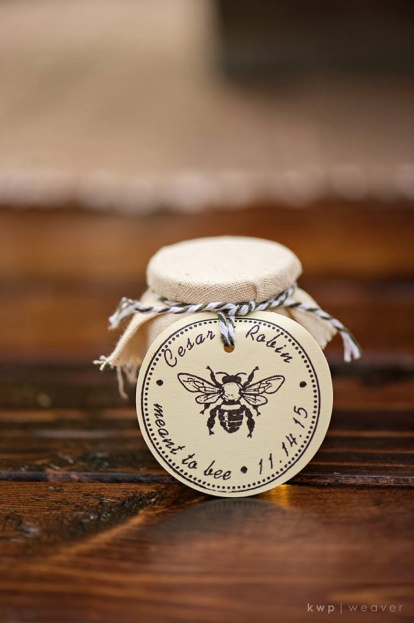 Plantation Style Wedding, Honey Wedding Favors