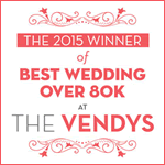 Best Wedding Over 80K at The Vendys - A Chair Affair