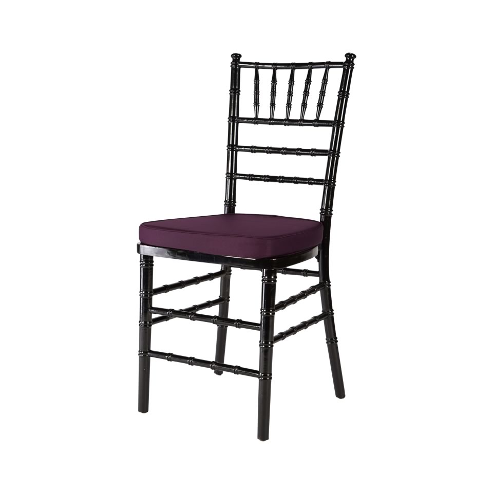 Amazing Black Chiavari Chair