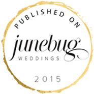 Junebug Weddings Badge 2015