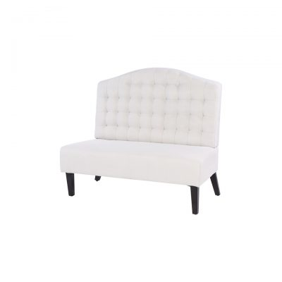 Tufted Arched Settee