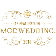 featured in MODWEDDING