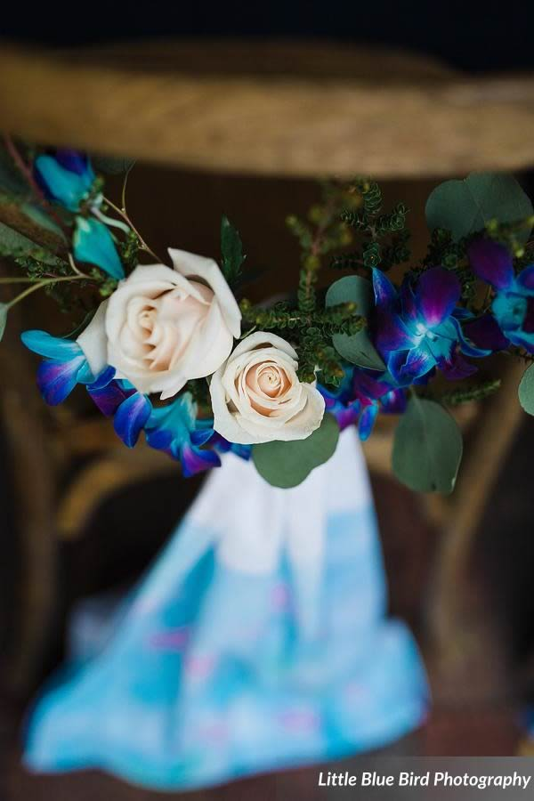 watercolor wedding inspiration floral