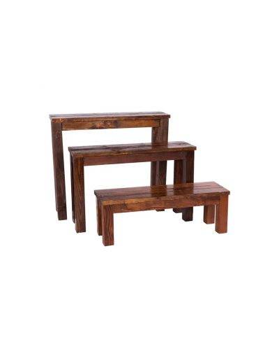 4′ Mahogany Bench – A Chair Affair