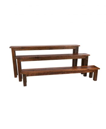 8' Mahogany Bench - A Chair Affair