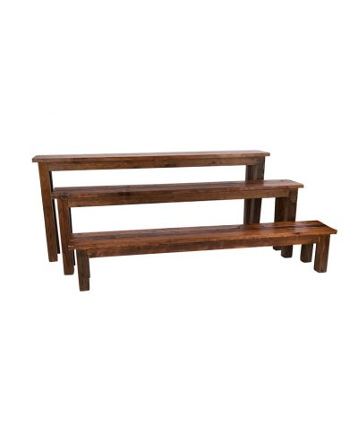 8′ Mahogany Bench – A Chair Affair