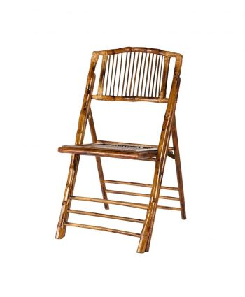 Bamboo Wood Folding Chair - A Chair Affair