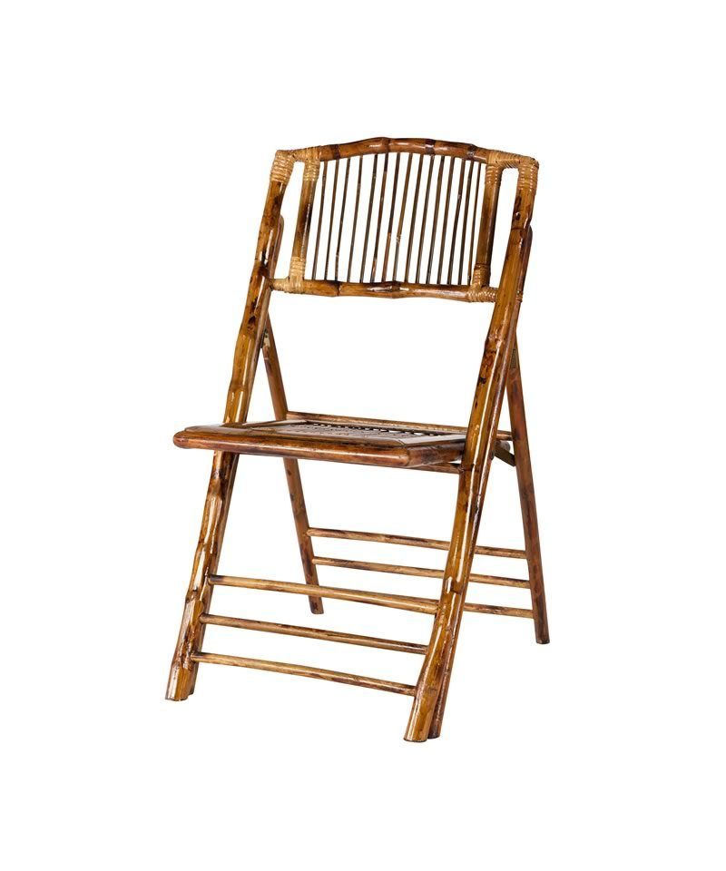 Remarkable Bamboo Wood Folding Chair A Chair Affair Inc Ocoug Best Dining Table And Chair Ideas Images Ocougorg
