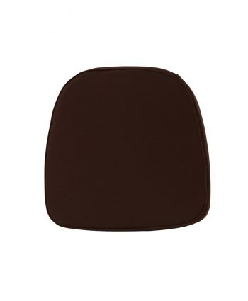 Chocolate Chiavari Pad - A Chair Affair