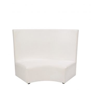 Curved High Back Settee - A Chair Affair