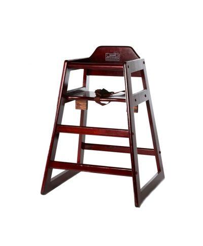 Charmant Mahogany Wood Baby High Chair U2013 A Chair Affair