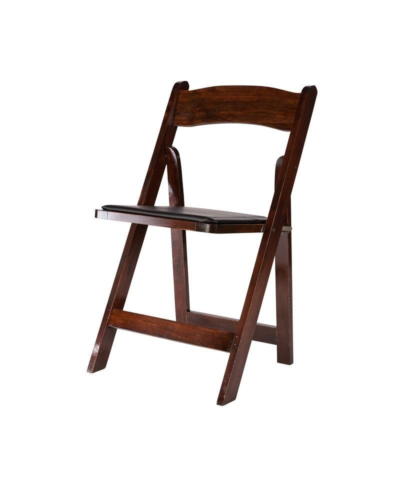 Peachy Mahogany Wood Folding Chair A Chair Affair Inc Ocoug Best Dining Table And Chair Ideas Images Ocougorg