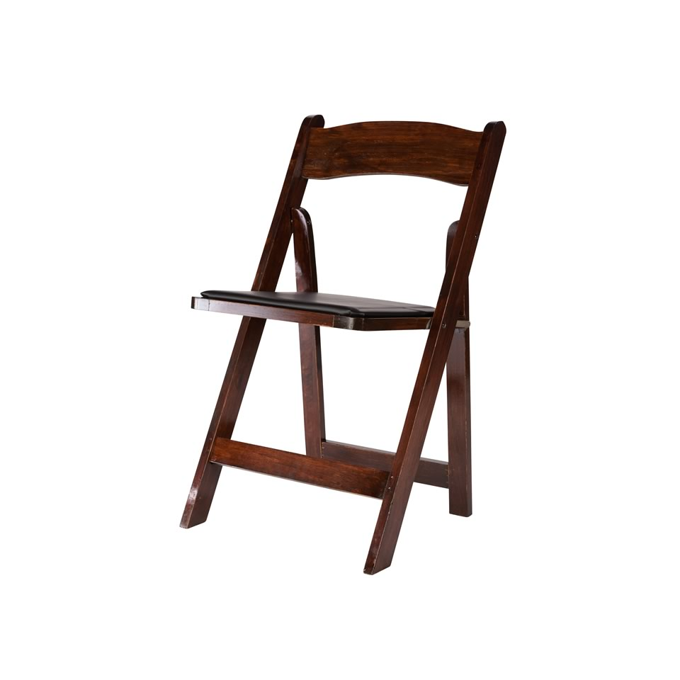 White resin folding chairs - Mahogany Wood Folding Chair Resin Folding Chair