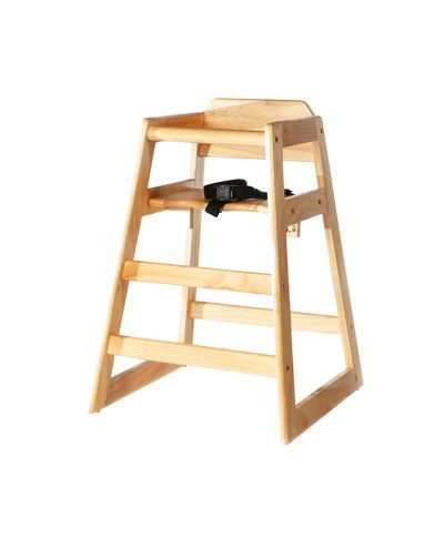 Natural Wood Baby High Chair – A Chair Affair