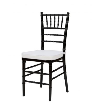 Steel Core Black Chiavari Chair - A Chair Affair