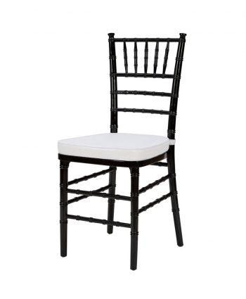 Steel Core Black Chiavari Chair - A Chair Affair