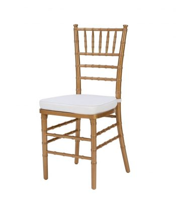 Steel Core Gold Chiavari Chair - A Chair Affair