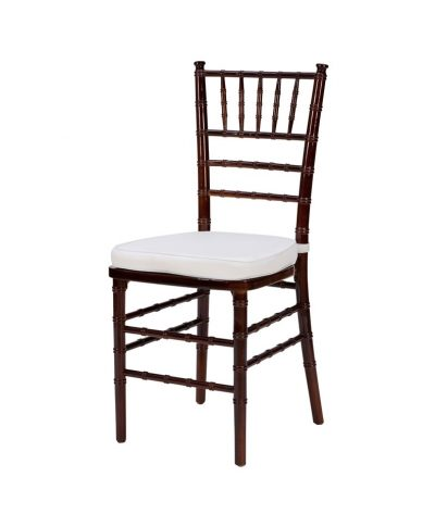 Steel Core Mahagony Chiavari Chair – A Chair Affair