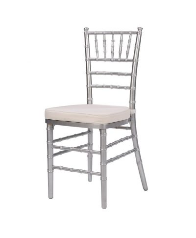 Steel Core Silver Chiavari Chair – A Chair Affair