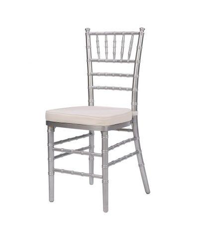 Steel Core Silver Chiavari Chair – A Chair Affair