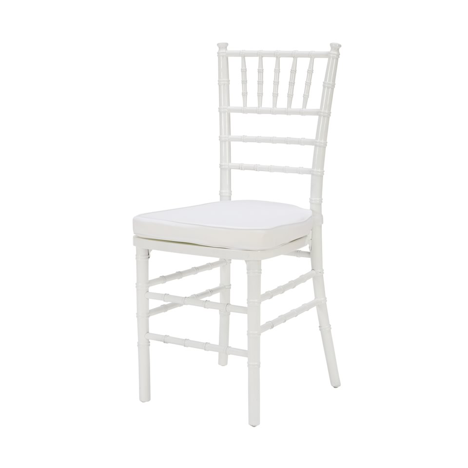 Delightful White Chiavari Chair