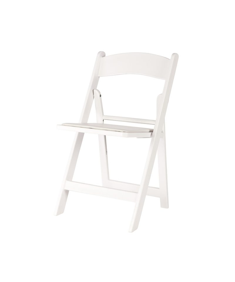 Strange White Resin Folding Chair A Chair Affair Inc Ocoug Best Dining Table And Chair Ideas Images Ocougorg