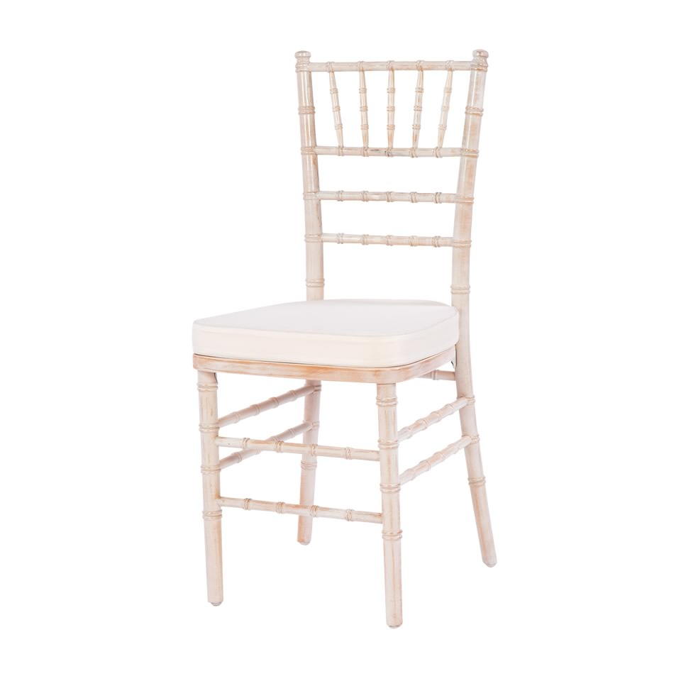 Superior Whitewashed Chiavari ...