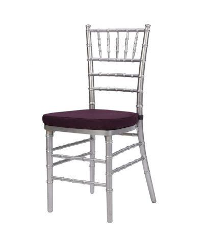 silver chiavari chair – a chair affai
