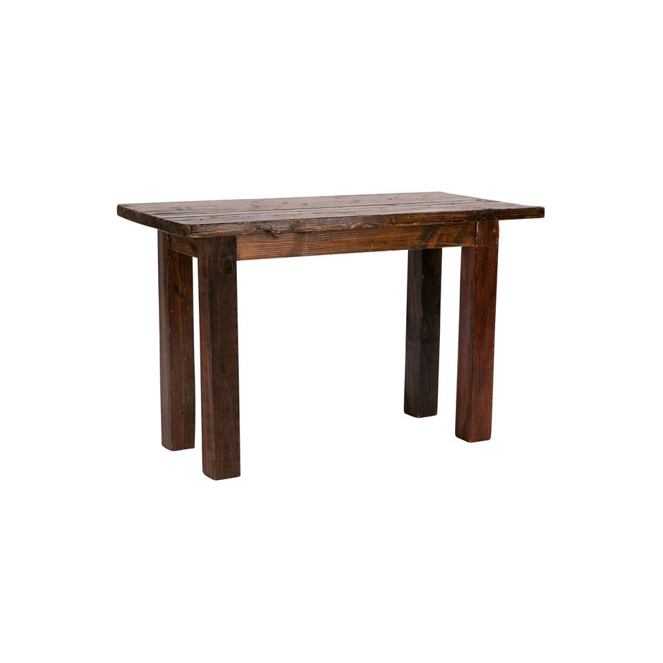 2'X4' Mahogany Sweetheart Table - A Chair Affair