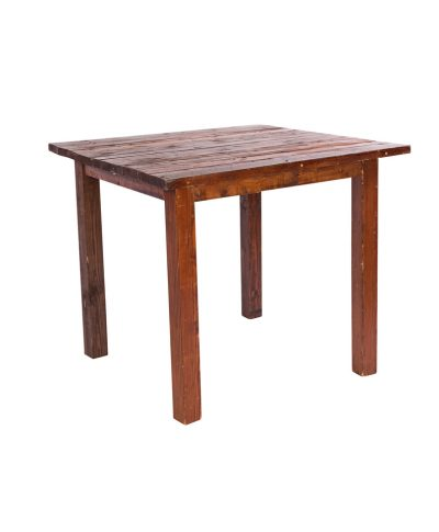 3′ X 3′ Mahogany Farm Tables – A Chair Affair
