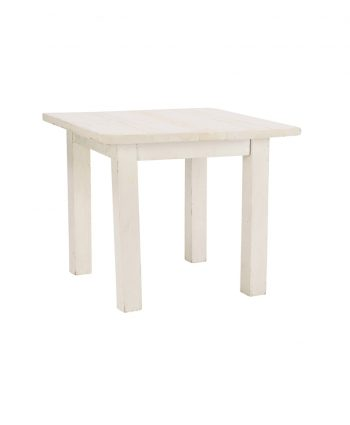 3' X 3' Whitewashed Farm Tables - A Chair Affair