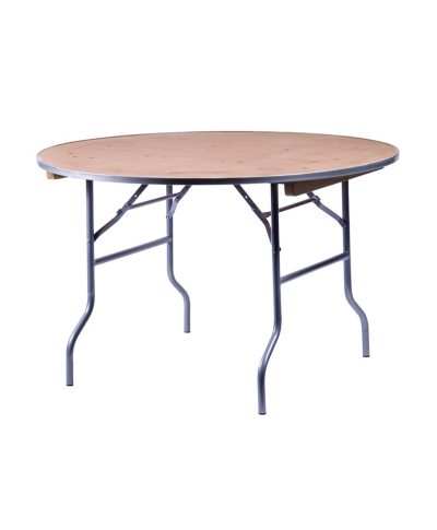 36 and 48in round banquet table