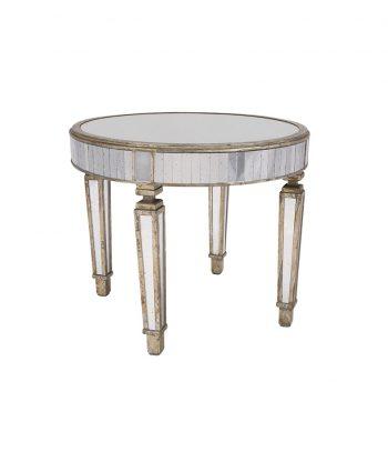 36 inch Mirrored Table - A Chair Affair