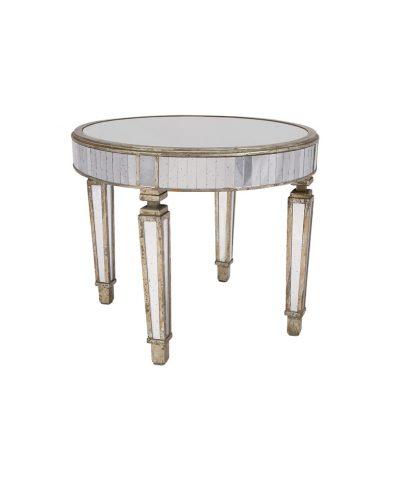 36 inch Mirrored Table –  A Chair Affair