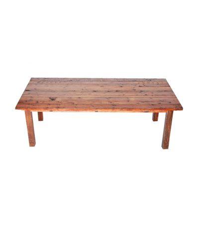 4′ X 8′ Mahogany Farm Table – A Chair Affair