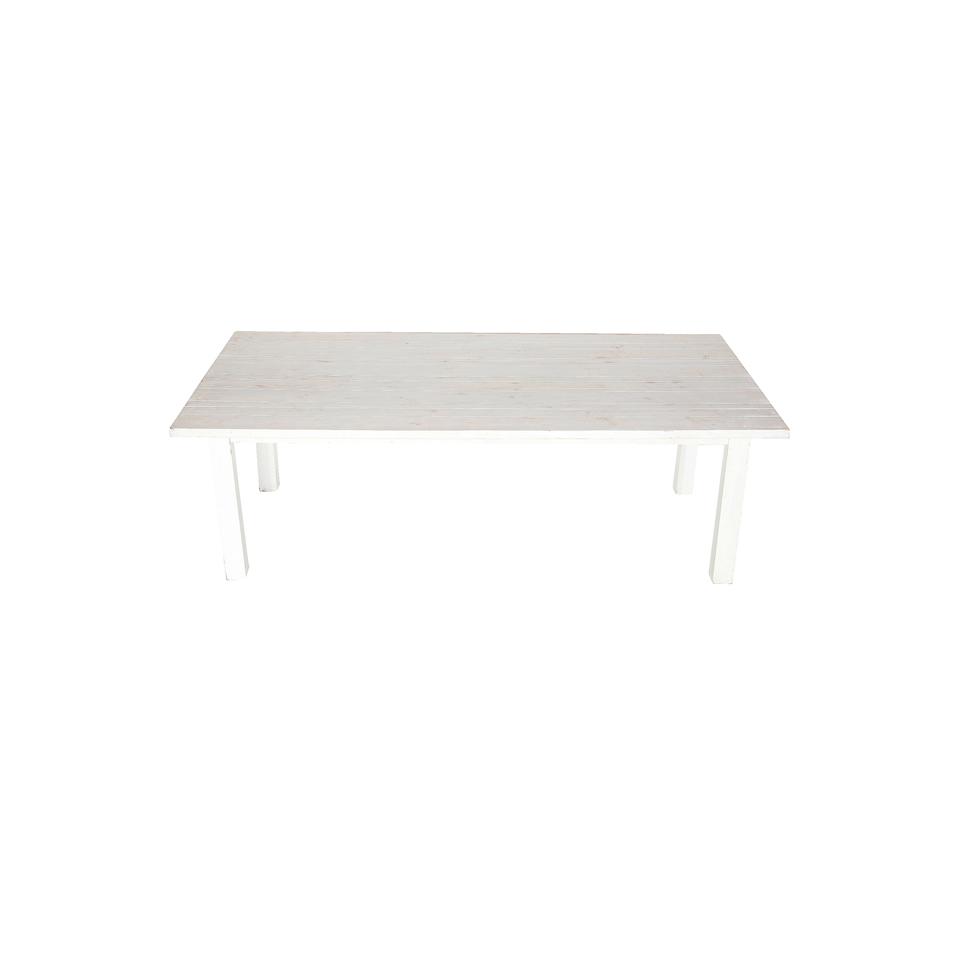 4u0027X8u2032 Whitewashed Farm Tables