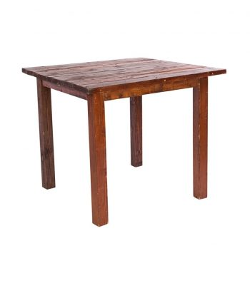 4'X4' Mahogany Farm Tables - A Chair Affair