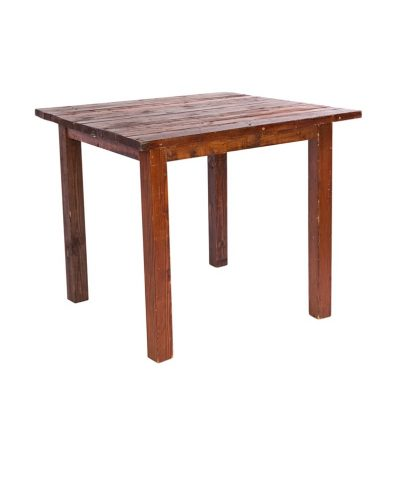 4'X4′ Mahogany Farm Tables – A Chair Affair