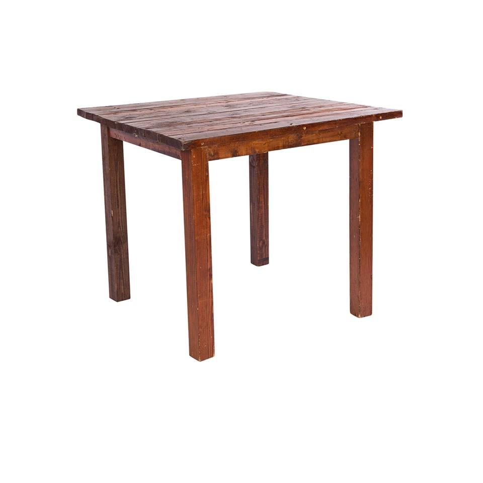 Elegant 4u0027X4u2032 Mahogany Farm Tables