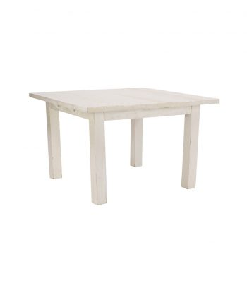 4'X4' Whitewashed Farm Tables - A Chair Affair