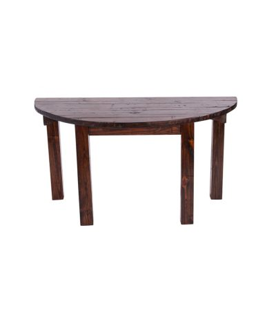 60 in Mahogany Half Moon Table –  A Chair Affair