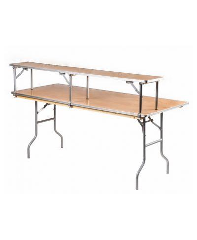 6ft bar back bar top tables – A Chair Affair